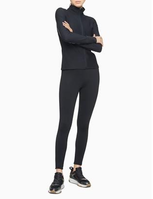 Calvin Klein Performance Honeycomb Mesh Colorblock Zip Front Jacket