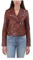 Mackage Women's Baya Moto Leather Jacket