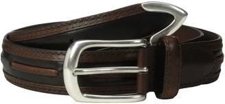 Alexander Julian Men's Moccasin Laced Design Belt