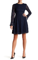 Betsey Johnson Lace Fit & Flare Dress