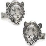 Cufflinks Inc. Men's Sterling Lion Head Cufflinks