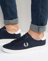 Fred Perry Spencer Canvas Sneakers