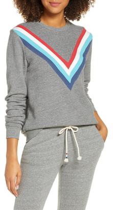 Sol Angeles Chevron Stripe Sweatshirt