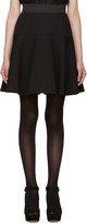 Dolce & Gabbana Black Flared Skirt