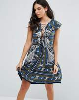 Raga Riviera Maya Printed Mini Dress