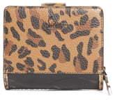 Christian Louboutin Mini Paloma Calfskin Leather Wallet