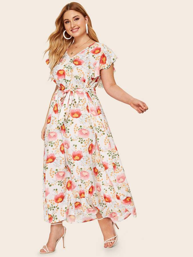 282d2ed239 Boho Floral Maxi Dress - ShopStyle