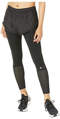 adidas by Stella McCartney Performance Essential Short Over Tights EA2211 (Black) Women's Casual Pants