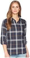 Carhartt Fairview Plaid Shirt Women's Long Sleeve Button Up