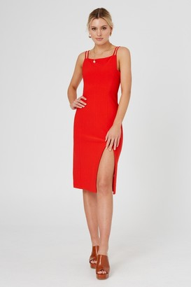 Finders Keepers NATALIA DRESS Red