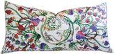 One Kings Lane Vintage Italian Gucci Floral Fanni Silk Pillow