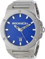 Rockwell Men's CM114 Men Commander Stainless Steel Silver Champagne Watch