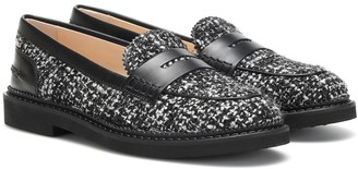 Tod's Exclusive to Mytheresa Gommino tweed loafers
