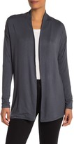 Workshop Long Sleeve Open Front French Terry Cardigan