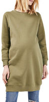 Topshop MATERNITY Throw-On Sweatshirt Dress