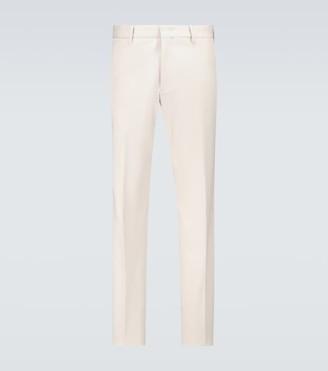 Ermenegildo Zegna Stretch-cotton chinos