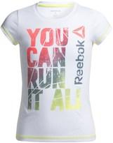 Reebok Run It All T-Shirt - Short Sleeve (For Big Girls)