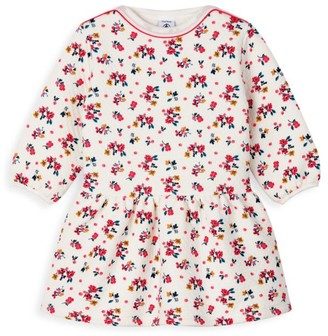 Petit Bateau Baby Girl's All Over Floral Dress