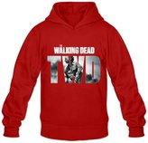 NEOLBOOS Men's The Walking Dead Cartoon Hoodies Sweatshirt Size M US
