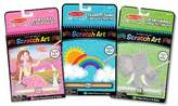 Melissa & Doug On the Go Scratch Art Activity Books Set - Fairy Tales, Favorite Things, Safari Animals