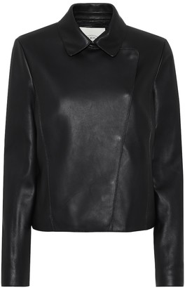 Tod's Leather biker jacket