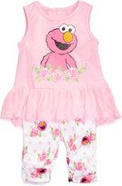 Nannette 2-Pc. Elmo Peplum Tunic & Capri Leggings Set, Baby Girls (0-24 months)