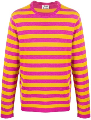 Acne Studios Striped Jumper