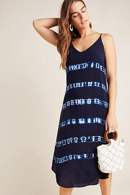 0dd6983c4155 Mia Tie-Dyed Midi Dress