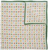 Drakes Polka Dot Pocket Square