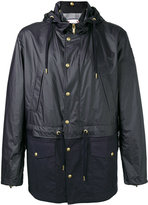 Moncler Gamme Bleu panel hooded jacket