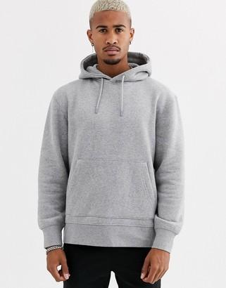 Topman hoodie in grey
