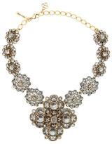Oscar de la Renta bold jeweled necklace