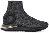 Salvatore Ferragamo Gancini glitter sneakers