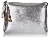 Loeffler Randall Tassel Pouch Leather Clutch