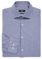 HUGO BOSS Regular Fit Check Dress Shirt