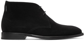 Paul Smith Black Suede Arni Desert Boots
