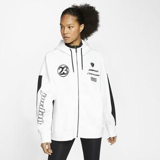 Nike Women's Lightweight Fleece Top (Plus Size) Jordan Moto