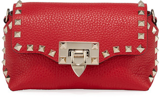 Valentino Garavani Rockstud Mini Leather Crossbody Bag