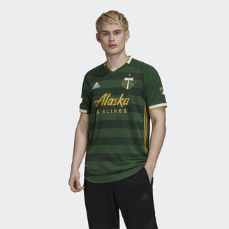 adidas Portland Timbers Home Authentic Jersey