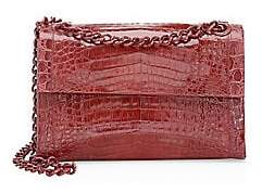 Nancy Gonzalez Women's Small Madison Crocodile Shoulder Bag