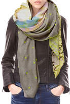 Liebeskind Neon Graphic Printed Scarf