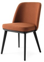 Calligaris Foyer Upholstered Dining Chair Upholstery Color: Ash Gray