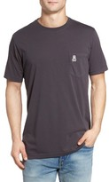 Psycho Bunny Men's Garment Dye Pocket T-Shirt