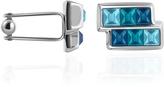 Forzieri Blue Crystal Cufflinks