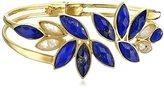 Lapis Coralia Leets Jewelry Design Leaf Bangle Bracelet