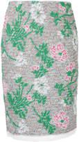 Coohem Botanical Jacquard skirt