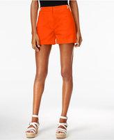 MICHAEL Michael Kors Embellished Flat-Front Shorts