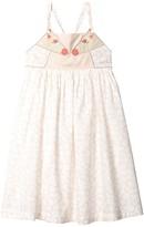 Stella McCartney Thin Strap Giraffe Spots Dress (Toddler/Little Kids/Big Kids) (Pink) Girl's Clothing