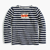 J.Crew Boys' long-sleeved pirate striped T-shirt