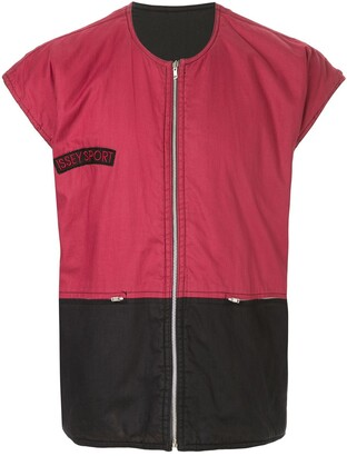 Issey Miyake Pre Owned 1980's Sports Line blockcolour vest